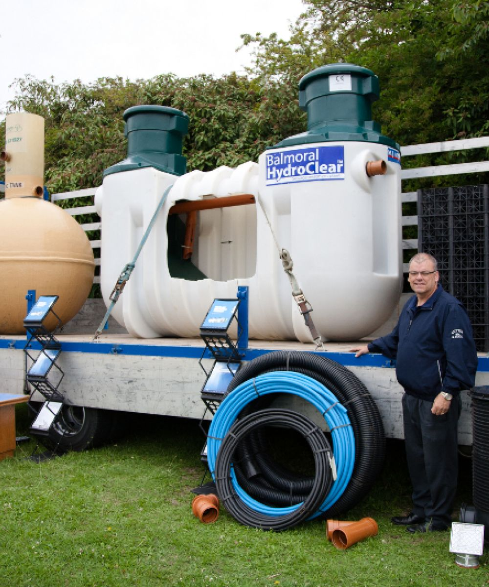 9. sewage plant demonstration
